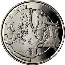 Belgium 10 Euro Silver Proof Coin 2004 - Entlargement of the European Union