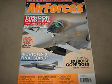 NEW! AIR FORCES MONTHLY June 2011 U.S. Force USAF Typhoon over War in Libya