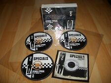 THE SPECIALS STEREO-TYPICAL A's B's RARITIES 3 X CD BOX two 2-tone ska MADNESS