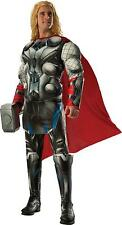 ADULT MARVEL COMICS AVENGERS THOR DELUXE MUSCLE CHEST COSTUME RU810293