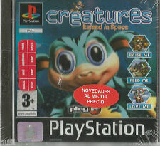 CREATURES Raised in Space - PSX Pal España Nuevo Playstaion 1
