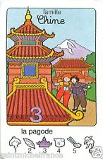 PAGODE PAGODA CHINE CHINA PLAYING CARD CARTE A JOUER