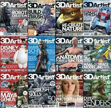 3D Artist Magazine Collection 2009-2015  75 Issues In PDF On DVD