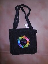 NWT Horizon 5821 Starpower Dance square Tote internal/ext zipper pockets purple