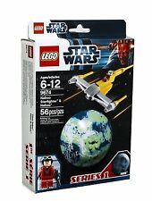 LEGO® Star Wars® Naboo Starfighter™ & Naboo™ Building Set 9674 NEW NIB Retired