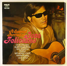 "2 x 12"" LP - José Feliciano - A Spanish Portrait Of - B2461 - washed & cleaned"