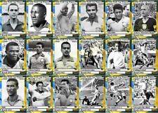 Brazil 1962 World Cup winners football trading cards