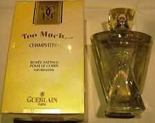 GUERLAIN CHAMPS-ELYSEES TOO MUCH SATINED BODY DEW - 100 ml/3.3fl.oz VINTAGE RARE