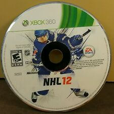 NHL 12 (XBOX 360) USED AND REFURBISHED (DISC ONLY) #10944
