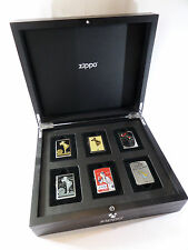 seltene Zippo Box - WINDY GIRL - 6er Holzbox - limitiert xxx/200 - Neu & ovp
