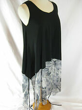 Lounge Apparel Size M and 10-12 Black Casual Dress