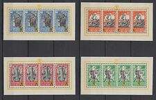 Nazi Occup WWII Flemish Legion,auth.original gum, Full Set of S/Sheets MNH Luxe.