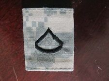Multicam US Army Private 1st Class E-3 PFC Rank Military Patch Used Authentic