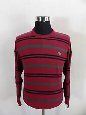 Men's Lacoste Jumper, Sweater, Size 3, S Small, Crew Neck, Cotton #BL1107