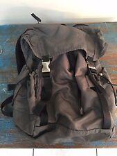 Authentic Prada Backpack - Grey Nylon!