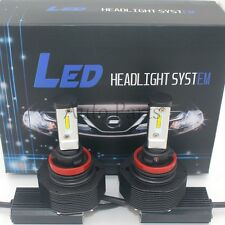 H11 180W 18000LM CREE LED Headlight Kit Low Beam Bulbs 6000K White High Power