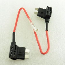 2X ADD Fuse Holder ATO ATC ACU Piggy Tap Standard Blade Circuit Car #G26-2