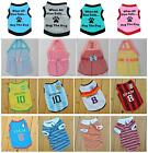 Summer Pet Puppy Small Dog Cat Princess Clothes Vest T-Shirt Tutu Dress Apparel