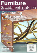 FURNITURE & CABINETMAKING, AUGUST, 2016  ( DESIGN * INSPIRATION * PROJECTS * )