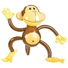 "40"" Inflatable Monkey Ape Chimp Zoo Animal Beach Pool Party Float Outdoor Toy"