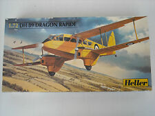 Heller DH 89 Dragon Rapide 1:72 scale model airplane kit, #80345