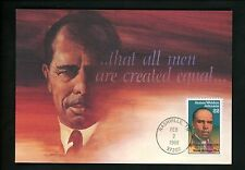 US FDC #2371 James Weldon Johnson 1988 Fleetwood Cachet Maximum Card