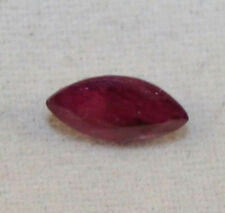 Natural Loose Ruby Gem 3x7mm Marquise Sfaccettato 0.5ct pietre preziose ru40a