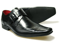 Red Tape Hammond Black Mens Leather Shoes UK size 7 - 11 RRP £45 Free P&P!