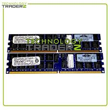408853-B21 HP 4Gb (2 x 2gb) PC2-5300P Memory Kit 405476-051