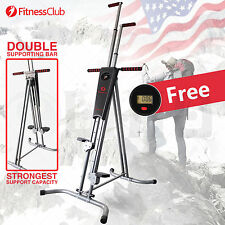 Fitnessclub Vertical Climber Machine Exercise Stepper Cardio Wordout Equipment