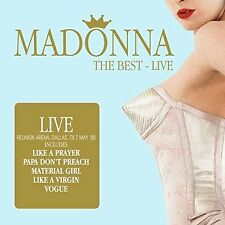 MADONNA - THE BEST-LIVE  2 CD NEW+