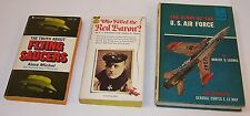 Who Killed the Red Baron? Flying Saucers,U.S. Airforce Story Fighter Pilot Books