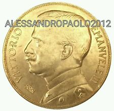 Vittorio Emanuele III 50 lire Aratrice 1912 Placcata D'oro 24kt plated Gold 24k