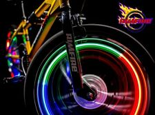 LED Bike Wheel Rim Lights Rimfire Hub Beach Cruiser Recumbent Tandem Low Rider