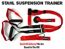 STAHL SUSPENSION TRAINING SYSTEM COMPLETE HOME GYM TRAINER WEIGHT LOSS MUSCLE