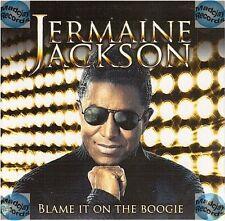 JERMAINE JACKSON BLAME IT ON THE BOOGIE france french CD SINGLE card sleeve NEUF