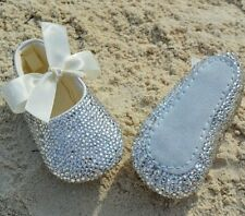 Bling baby booties