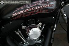 Rough Crafts Air Cleaner + Intake Filter system HD Harley  Dyna Softail 93-2014