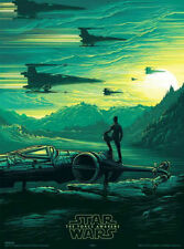 75% OFF SALE! Ltd. Edition Star Wars Rouge One / VII Posters by Dan Mumford. NEW