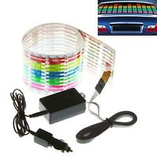 Sound Activated Equalizer Music Rhythm LED Flash Light Lamp Car Sticker 90x 10cm
