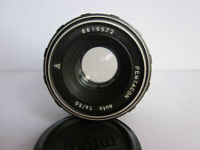 Pentacon 50mm f1.8 Lens M42 Pentax Takumar Screw f Digital SLR Camera Vivitar cp