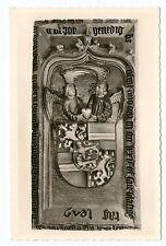 Ältere SW Postkarte vom Grabdenkmal des Grafen Johann IV     (758)