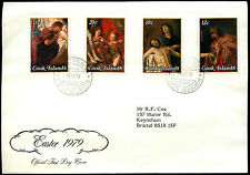 Cook Islands 1979 Easter FDC First Day Cover #C38663