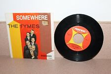 "The Tymes Somewhere/View from my window 7"" vinyl Parkway Records picture sleeve"