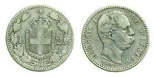 pcc1378_10) Regno Umberto I (1878-1900) Lire 2 Stemma  1881