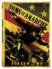 Sons of Anarchy: Season Two [4 Discs] (2010, REGION 1 DVD New)