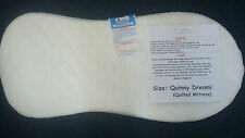 NEW DELUXE SAFETY MATTRESS FOR QUINNY DREAMI CARRYCOT QUILTED MATTRESS