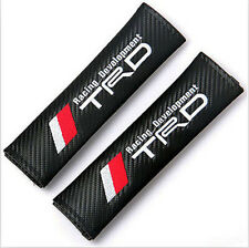 New 2pcs Toyota TRD Racing Car Seat Belt Cover Pads Shoulder Cushion For Toyota