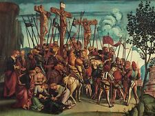 LUCA SIGNORELLI ITALIAN CRUCIFIXION OLD ART PAINTING POSTER PRINT BB6052A