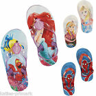 PRIMARK GIRLS BOYS BEACH POOL SANDALS FLIP FLOPS DISNEY / MARVEL CHILDRENS KIDS